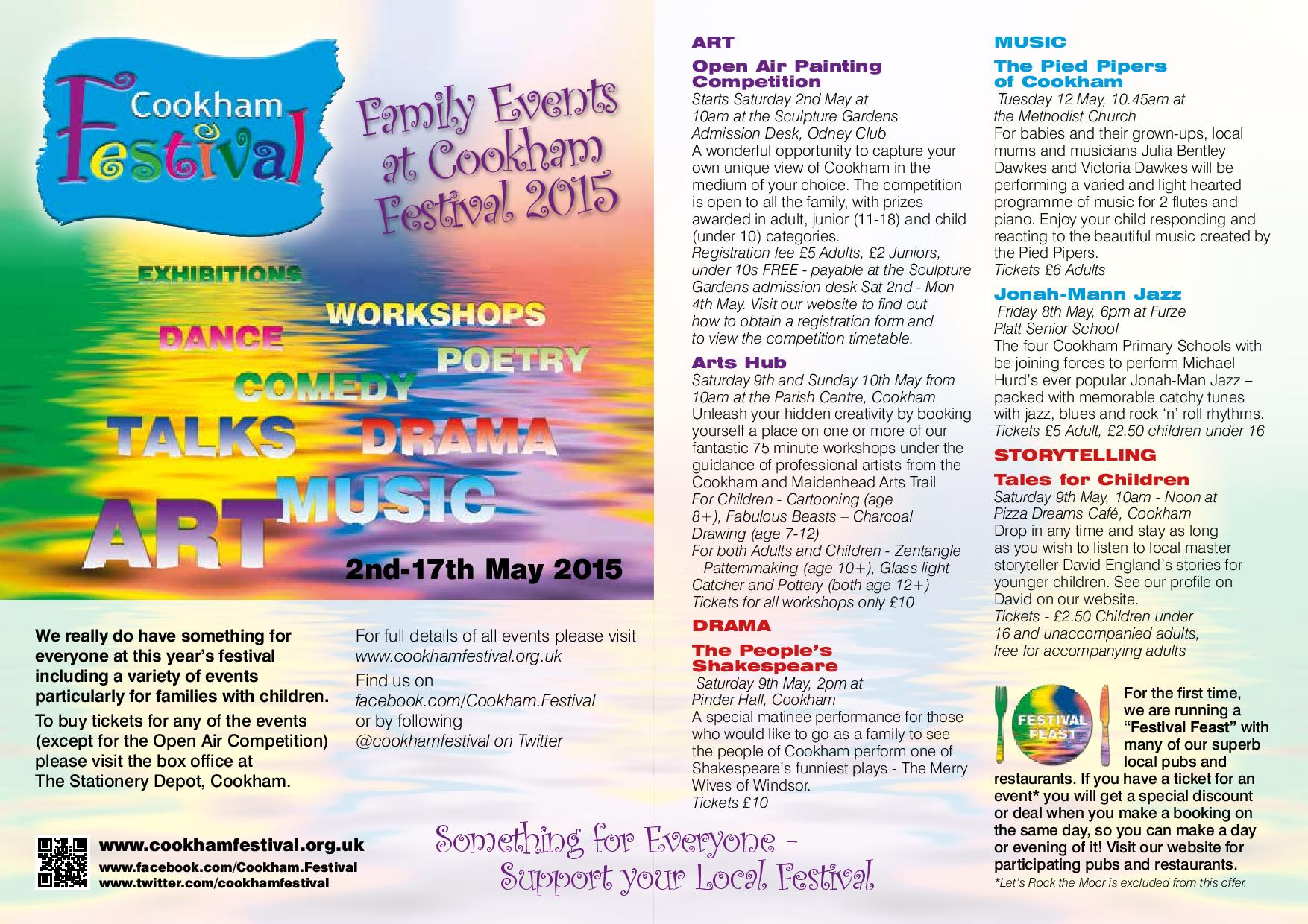 Cookham Festival Family Events
