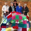 CF Knit and natter group yarn graffiti