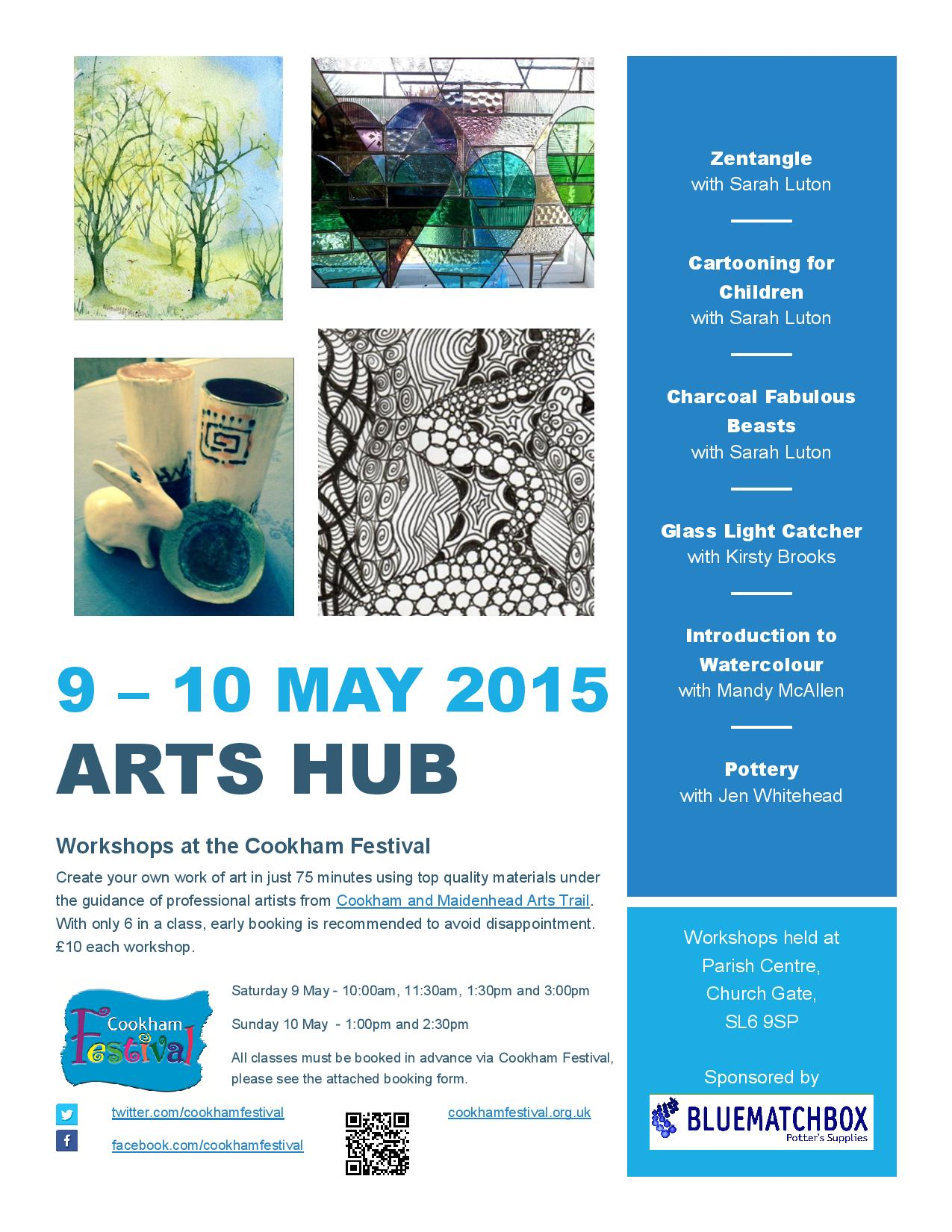 Cookham Festival Arts Hub Workshops