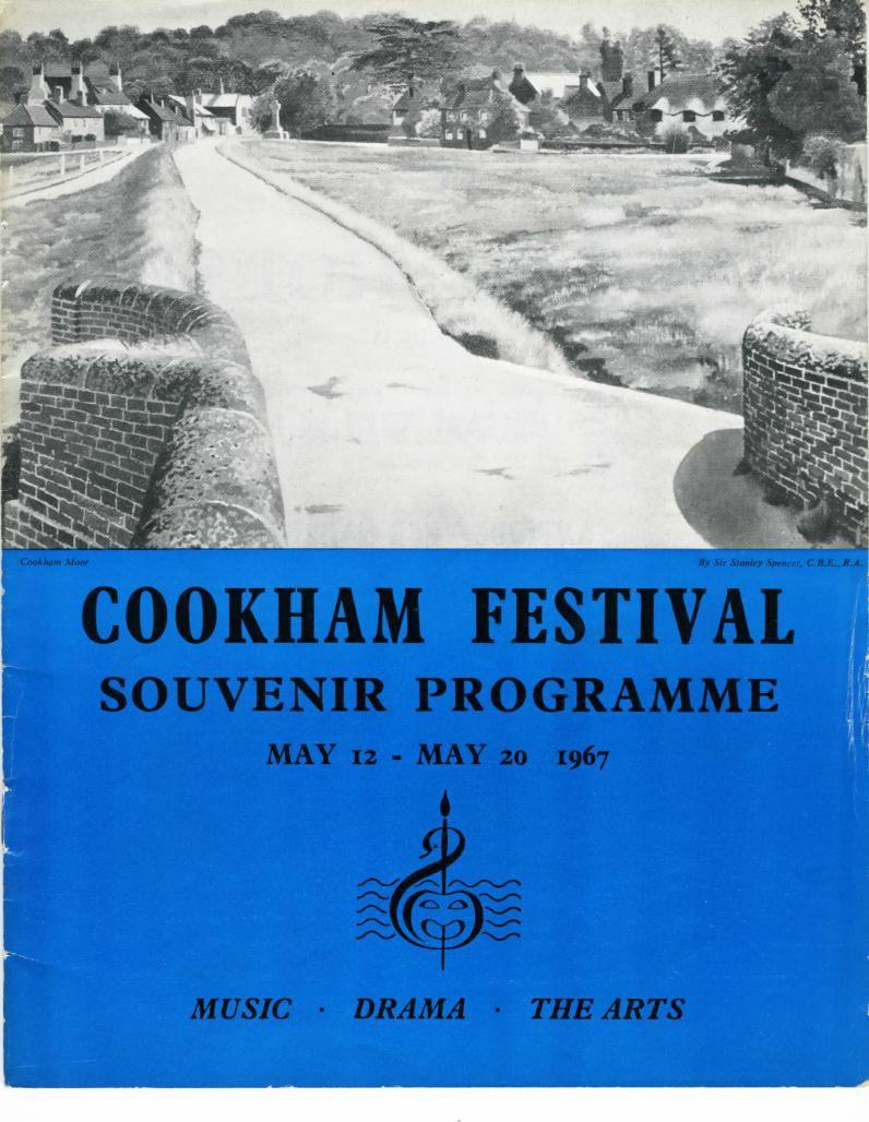 Cookham Festival Programme 1967